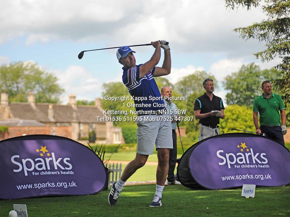 Ian Woan, Sparks Leon Haslam Classic Golf Day, Wellingborough Golf Club, Tuesday 10th June 2014