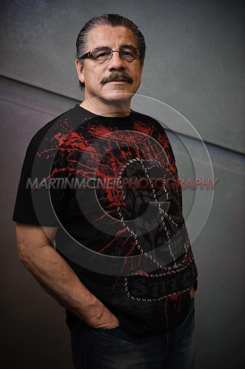 """A portrait of mixed martial arts and boxing cutman Jacob """"Stitch"""" Duran"""