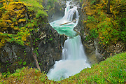 Waterfalls on the Little Qualicum River<br /> Little Qualicum River Provincial Park<br /> British Columbia<br /> Canada