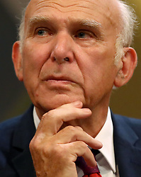 "Embargoed to 0001 Monday December 10 File photo dated 16/09/18 of Lib Dem leader Sir Vince Cable who has cast doubt on Brexit becoming a reality, insisting it was ""more likely that it won't happen"", as the Prime Minister risked losing a crunch vote in Parliament over her deal."