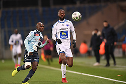 December 15, 2017 - Le Havre, France - Didier Lamkel Ze (nio) - Yacouba Coulibaly  (Credit Image: © Panoramic via ZUMA Press)