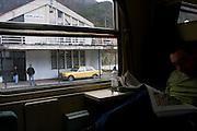 Train from Mostar to Sarajevo. Bosnia 2009