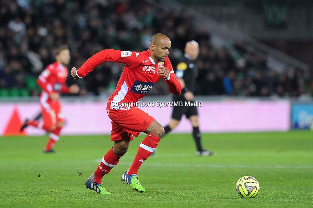 Aldo ANGOULA  - 21.12.2014 - Saint Etienne / Evian Thonon - 19eme journee de Ligue 1<br /> Photo : Jean Paul Thomas / Icon Sport