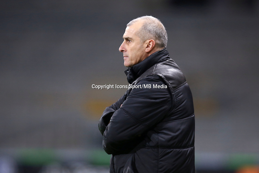 Alain Casanova  - 20.12.2014 - Toulouse / Guingamp - 19eme journee de Ligue 1 <br /> Photo : Manuel Blondeau / Icon Sport