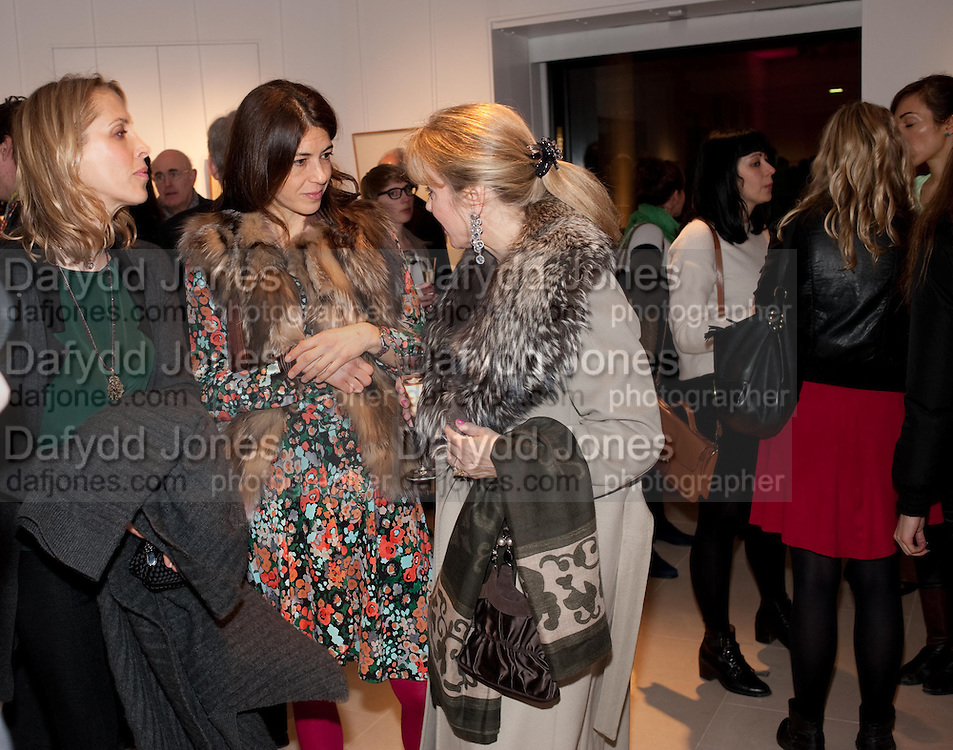TATJANA D;ABO; KAREN GROSS; YVONNE WINKLER, SANCTUARY: BRITAIN'S ARTISTS AND THEIR STUDIOS -Book launch, Christie's King Street, St James 13 March 2012.