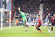 Bournemouth v West Bromwich Albion
