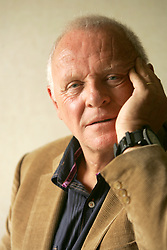 """Anthony Hopkins wrote, directed, stars and wrote the music for his new movie, """"Slipstream,"""" October 18, 2007. (Bruce Gilbert/Newsday/MCT)"""