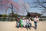 Gyeongbokgung Palace. Gyeonghoeru Pavillion.