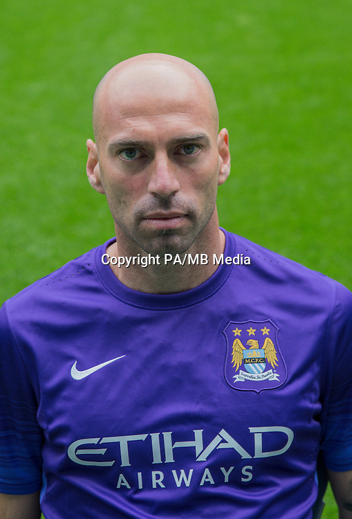 Manchester City goalkeeper Willy Caballero