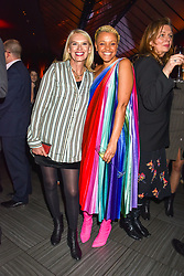 Anneka Rice and Gemma Cairney at the Costa Book of The Year Award held at  Quaglino's, 16 Bury Street, London, England. 29 January 2019. <br /> <br /> ***For fees please contact us prior to publication***
