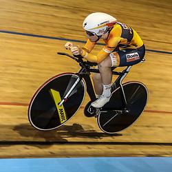 28-12-2017: Wielrennen: NK Baan: Alkmaar <br />Amy Pieters plaatst zich voor de finale achtervolging als snelste