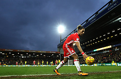 Ryan Shotton of Middlesbrough collects the ball at Carrow Road - Mandatory by-line: Robbie Stephenson/JMP - 03/02/2018 - FOOTBALL - Carrow Road - Norwich, England - Norwich City v Middlesbrough - Sky Bet Championship