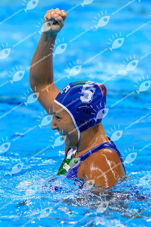 RADICCHI Federica ITALIA <br /> Rio de Janeiro 19-08-2016 Olympic Aquatics Stadium  - Water Polo <br /> USA - ITALY Final <br />  Foto Andrea Staccioli/Deepbluemedia/Insidefoto