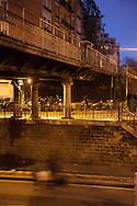 Paris 12 ardt, under the bridge of the avenue saint Mande, former petite ceinture railway line / sous le pont de l'avenue saint Mande, pont de la petite ceinture ferroviaire de Paris.