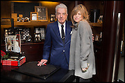 NICKY HASLAM; SARAH STANDING, Ralph Lauren host launch party for Nicky Haslam's book ' A Designer's Life' published by Jacqui Small. Ralph Lauren, 1 Bond St. London. 19 November 2014