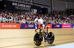 Germany's Miriam Welte competes in the Women's 500m Time Trial Final during day five of the 2018 European Championships at the Sir Chris Hoy Velodrome, Glasgow.