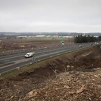 Work continues on the new A9/A85 junction and link road to Bertha Park in Perth…21.01.17<br />