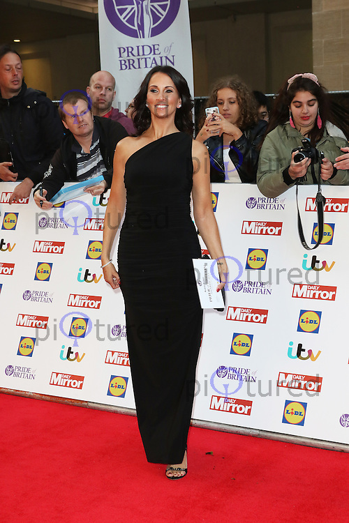 Andrea McLean, Pride of Britain Awards, Grosvenor House Hotel, London UK. 28 September, Photo by Richard Goldschmidt