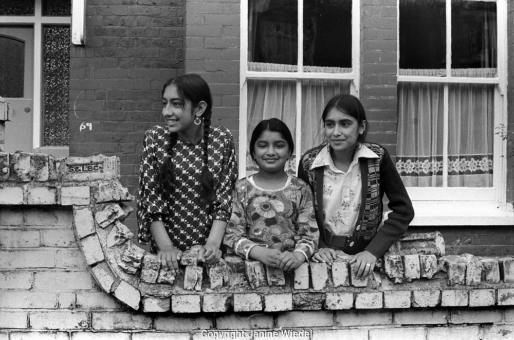 Asian community in Southhall West london in 1976