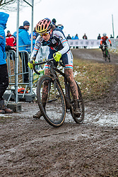 Christine Majerus (LUX), Women Elite, Cyclo-cross World Championships Tabor, Czech Republic, 31 January 2015, Photo by Pim Nijland / PelotonPhotos.com