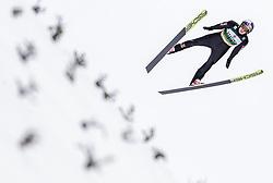 01.02.2019, Heini Klopfer Skiflugschanze, Oberstdorf, GER, FIS Weltcup Skiflug, Oberstdorf, Qualifikation, im Bild Andreas Wellinger (GER) // Andreas Wellinger of Germany during his Qualification Jump of FIS Ski Jumping World Cup at the Heini Klopfer Skiflugschanze in Oberstdorf, Germany on 2019/02/01. EXPA Pictures © 2019, PhotoCredit: EXPA/ JFK