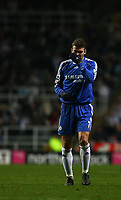 Photo: Andrew Unwin.<br /> <br /> Newcastle United v Chelsea. Carling Cup. 20/12/2006.<br /> <br /> Chelsea's Andriy Shevchenko.