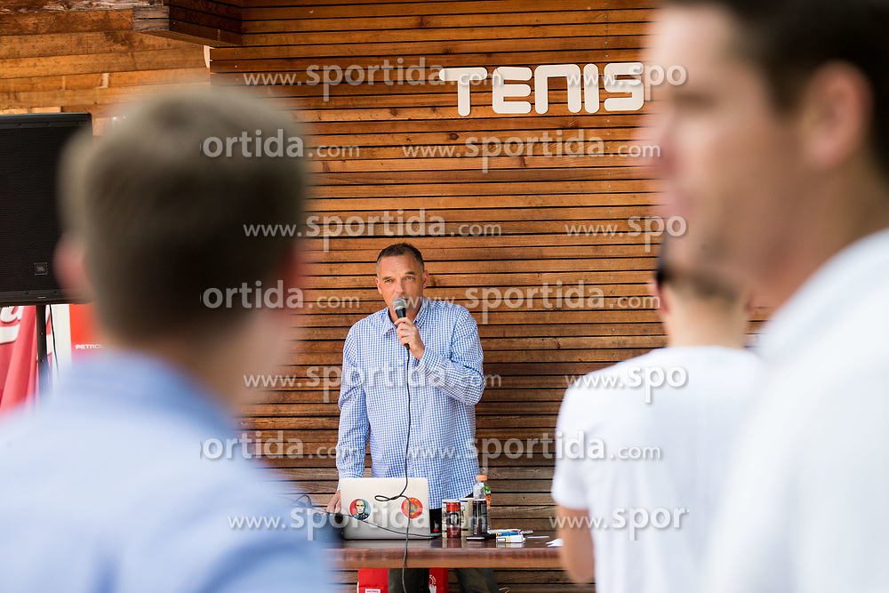 Gasper Bolhar at Petrol VIP tournament 2018, on May 24, 2018 in Sports park Tivoli, Ljubljana, Slovenia. Photo by Vid Ponikvar / Sportida