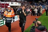 Photo: Dave Linney.<br />Aston Villa v Reading. The Barclays Premiership. 23/08/2006.New Villa Boss Martin O'Neil