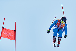 17.02.2018, Jeongseon Alpine Centre, Jeongseon, KOR, PyeongChang 2018, Ski Alpin, Damen, Super G, im Bild Sofia Goggia (ITA) // Sofia Goggia of Italy in action during ladie's SuperG of the Pyeongchang 2018 Winter Olympic Games at the Jeongseon Alpine Centre in Jeongseon, South Korea on 2018/02/17. EXPA Pictures © 2018, PhotoCredit: EXPA/ Johann Groder