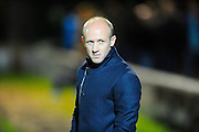 Yeovil Town manager Darren Way during the Sky Bet League 2 match between Yeovil Town and Plymouth Argyle at Huish Park, Yeovil, England on 23 February 2016. Photo by Graham Hunt.