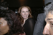 Catherine Tate, The 25th hour post party at the Plaza on the River, 18 Albert Embankment. Culmination of the 24 Hour Plays Celebrity Gala at the Old Vic.London. 8 October 2006.  -DO NOT ARCHIVE-© Copyright Photograph by Dafydd Jones 66 Stockwell Park Rd. London SW9 0DA Tel 020 7733 0108 www.dafjones.com