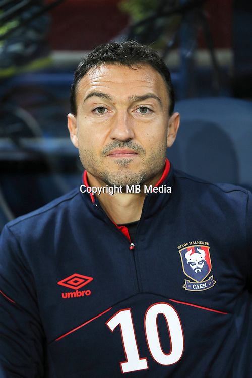 Steed Malbranque of Caen during the Ligue 1 match between SM Caen and Paris Saint Germain at Stade Michel D'Ornano on September 16, 2016 in Caen, France. (Photo by Vincent Michel/Icon Sport)