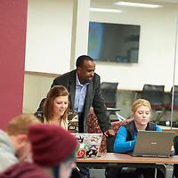 2016 UWL School of Education Student Tutors Logan Middle School Murphy Collaboration Learning Studio