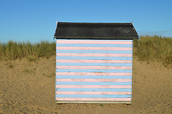 Beach hut near Great Yarmouth, Norfolk 2014