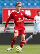 FODBOLD: Simon Vollesen (Lyngby BK) under kampen i Reserveligaen mellem Lyngby Boldklub og FC Helsingør den 11. september 2017 på Lyngby Stadion. Foto: Claus Birch