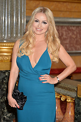 OLA JORDAN at the Dream Ball in aid of The Princes's Trust and Big Chance held at Lancaster House, St.James's, London on 7th July 2016.
