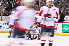 October 11, 2018: Washington Capitals at New Jersey Devils