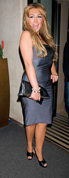 14.SEPTEMBER.2011. LONDON<br /> <br /> STARS OF TV SHOW 'THE ONLY WAY IS ESSEX', LAUREN GOODGER, LEAVE THE AURA CLUB IN MAYFAIR, IN LONDON<br /> <br /> BYLINE: EDBIMAGEARCHIVE.COM<br /> <br /> *THIS IMAGE IS STRICTLY FOR UK NEWSPAPERS AND MAGAZINES ONLY*<br /> *FOR WORLD WIDE SALES AND WEB USE PLEASE CONTACT EDBIMAGEARCHIVE - 0208 954 5968*