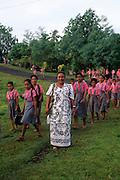 Schoolchildren, Upolu, Samoa
