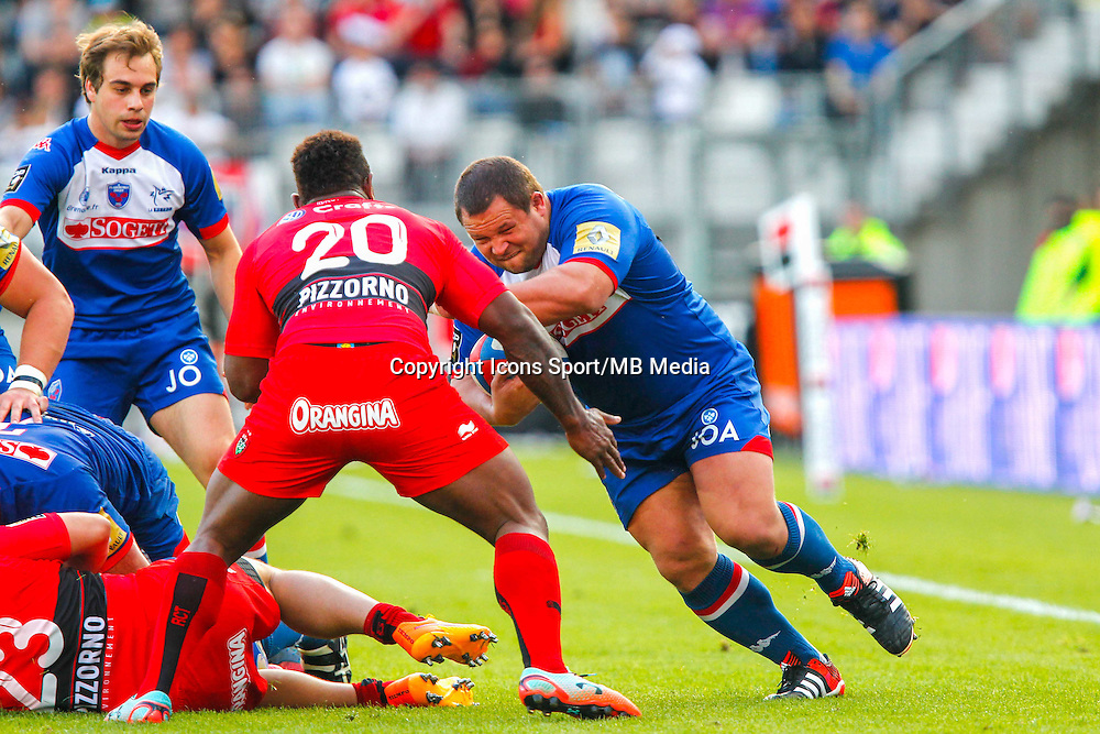 Albertus BUCKLE  - 11.04.2015 - Grenoble / Toulon  - 22eme journee de Top 14 <br />