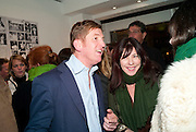 JOHNNIE BODEN; CAM ILLA GUINNESS, The Way We Wore.- Photographs of parties in the 70's by Nick Ashley. Sladmore Contemporary. Bruton Place. London. 13 January 2010.<br /> JOHNNIE BODEN; CAM ILLA GUINNESS, The Way We Wore.- Photographs of parties in the 70's by Nick Ashley. Sladmore Contemporary. Bruton Place. London. 13 January 2010. *** Local Caption *** -DO NOT ARCHIVE-© Copyright Photograph by Dafydd Jones. 248 Clapham Rd. London SW9 0PZ. Tel 0207 820 0771. www.dafjones.com.