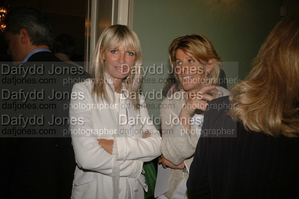 Pandora Delevigne and  Lucy Morris, Book launch of 'A Much Married Man' by Nicholas Coleridge. English Speaking Union. London. 4 May 2006. ONE TIME USE ONLY - DO NOT ARCHIVE  © Copyright Photograph by Dafydd Jones 66 Stockwell Park Rd. London SW9 0DA Tel 020 7733 0108 www.dafjones.com