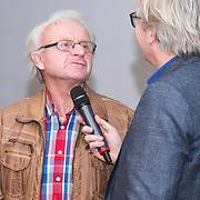 NLD/Amsterdam/20151210 - Andere Tijden sport presentatie seizoen 2016, Elfstedentocht rijder Jan-Roelof Kruithof en presentator Tom Egbers