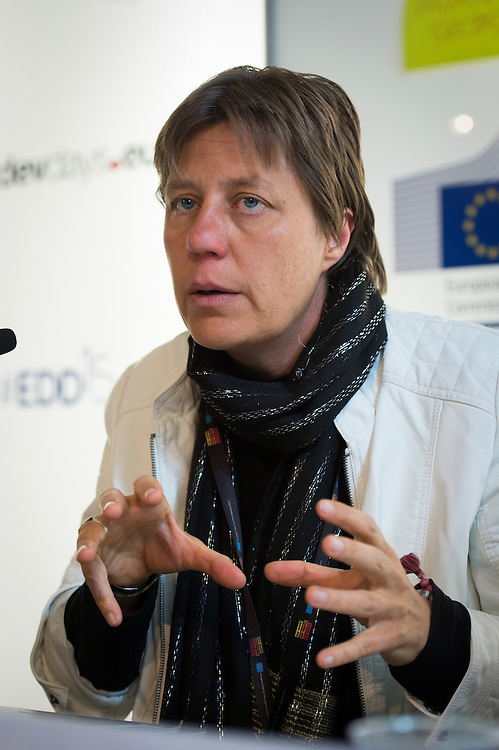03 June 2015 - Belgium - Brussels - European Development Days - EDD - Urban - Growing food in greener cities - The role of urban and peri-urban horticulture - Marielle Dubbeling<br /> Director, RUAF Foundation-International network of Resource centres on Urban Agriculture and Food Security&copy; European Union