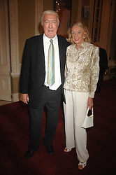 ANDREW & SONIA SINCLAIR at a party to celebrate the publication of Sandra Howard's book 'Ursula's Stor' held at The British Academy, 10 Carlton House Terace, London on 4th September 2007.<br />