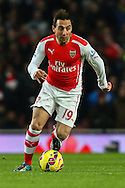 Santi Cazorla of Arsenal during the Barclays Premier League match at the Emirates Stadium, London<br /> Picture by David Horn/Focus Images Ltd +44 7545 970036<br /> 13/12/2014