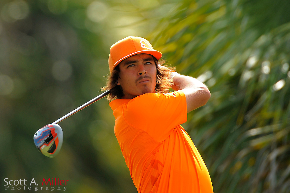 Rickie Fowler during the final round of the World Golf Championship Cadillac Championship on the TPC Blue Monster Course at Doral Golf Resort And Spa on March 11, 2012 in Doral, Fla. ..©2012 Scott A. Miller.