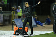Forest Green Rovers manager, Mark Cooper during the EFL Sky Bet League 2 match between Carlisle United and Forest Green Rovers at Brunton Park, Carlisle, England on 17 September 2019.
