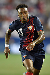 July 7, 2017 - Harrison, New Jersey, U.S - Costa Rica midfielder RODNEY WALLACE (13) is seen during CONCACAF Gold Cup 2017 action at Red Bull Arena in Harrison New Jersey Costa Rica defeats Honduras 1 to 0. (Credit Image: © Brooks Von Arx via ZUMA Wire)