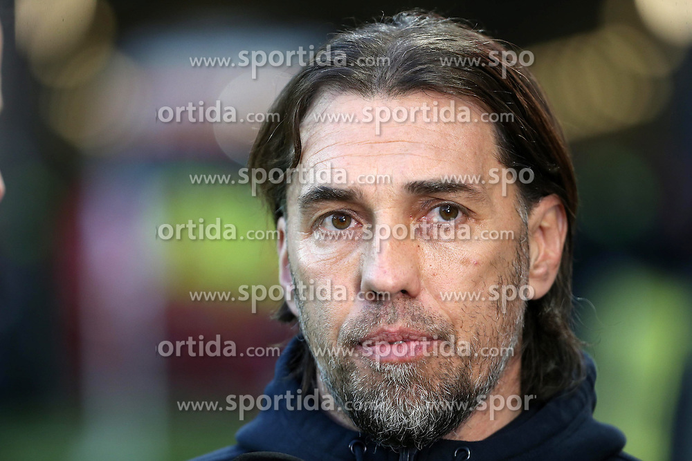 07.03.2015, Coface Arena, Mainz, GER, 1. FBL, 1. FSV Mainz 05 vs Borussia Moenchengladbach, 24. Runde, im Bild v.l.: Mainz-Trainer Martin Schmidt // during the German Bundesliga 24th round match between 1. FSV Mainz 05 and Borussia Moenchengladbach at the Coface Arena in Mainz, Germany on 2015/03/07. EXPA Pictures &copy; 2015, PhotoCredit: EXPA/ Eibner-Pressefoto/ Neurohr<br /> <br /> *****ATTENTION - OUT of GER*****